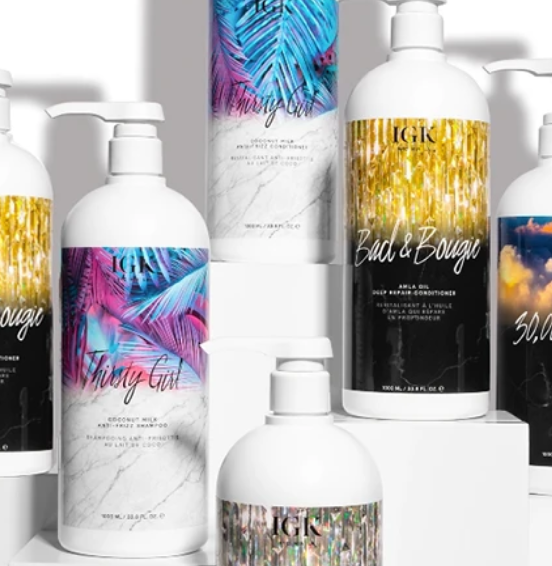 IGK Hair: Get Shampoo & Conditioner Liters For $30
