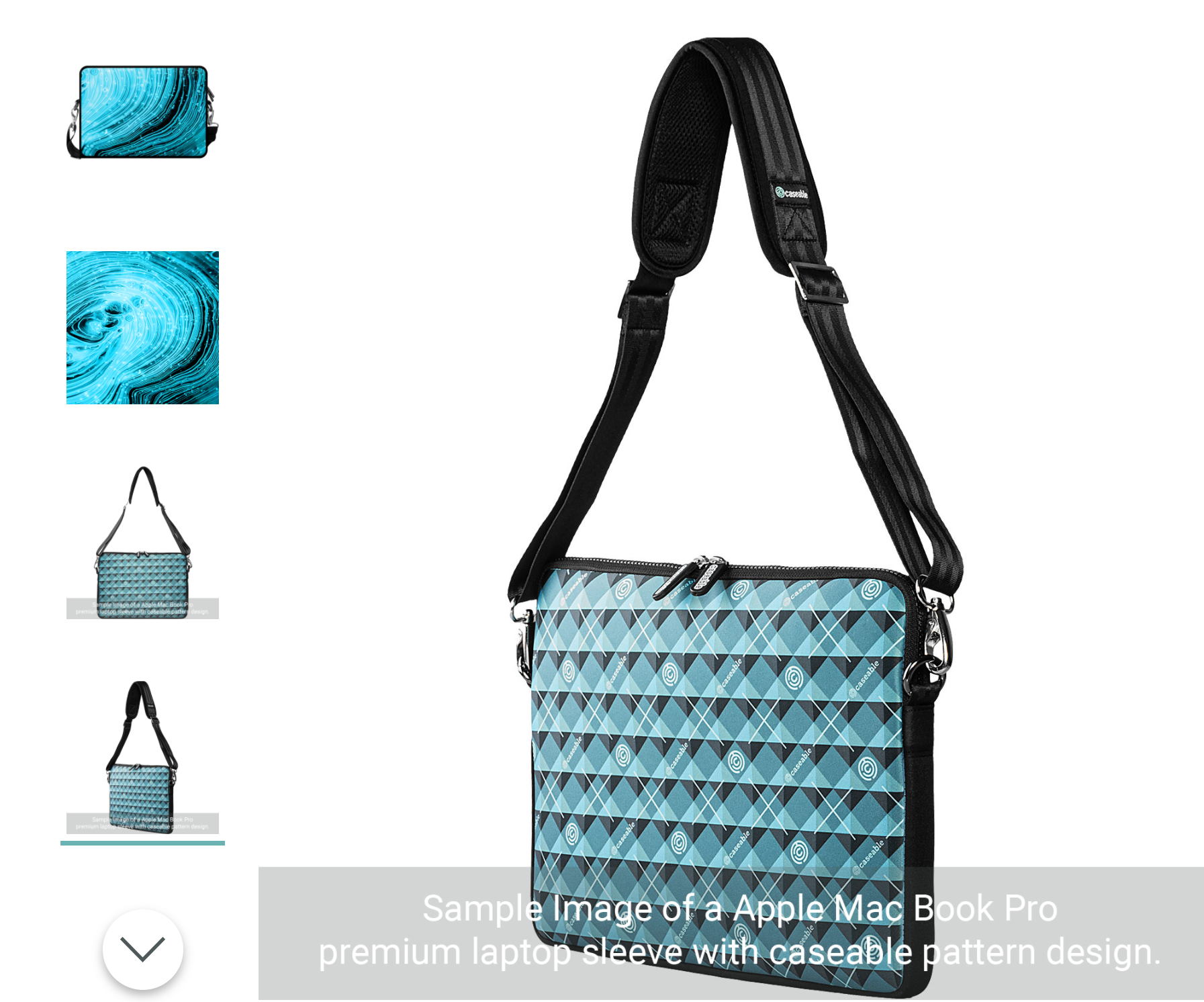 Premium Laptop Sleeve for Apple MacBook Pro 13 (2020) @Caseable