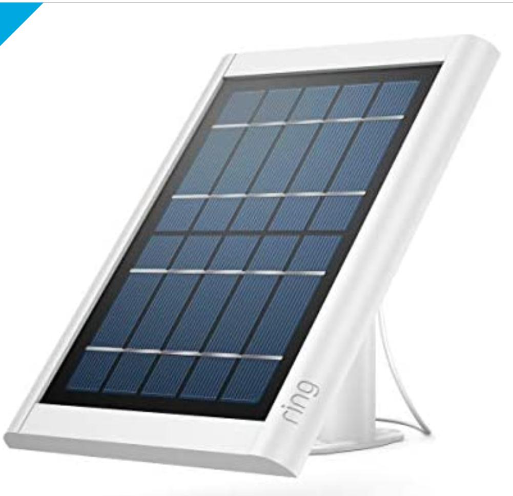 Ring Super Solar Panel – White $79.99 new