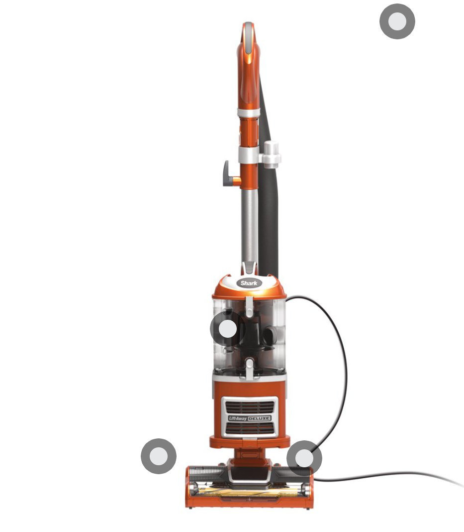 New Shark Navigator Vacuum CU500 @Walmart
