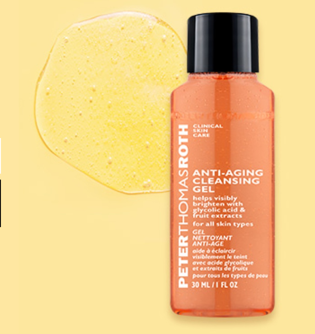 Peter Thomas Roth: Free Anti-Aging Cleansing Gel - Travel Size 30ml with Any Purchase