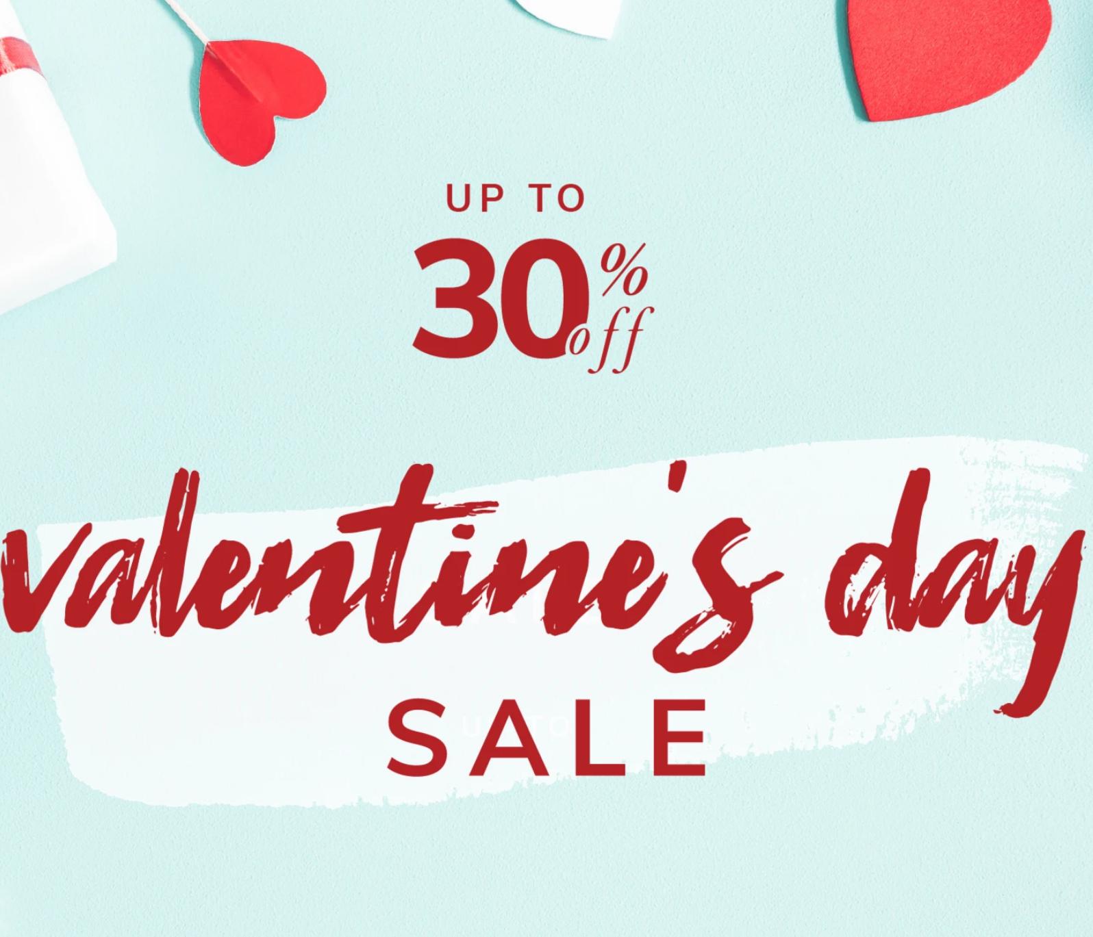 Pier 1 Online: Up to 30% off Valentine's Sale