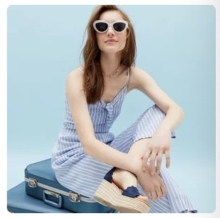 J.Crew Factory 50% off Clearance Styles with Code SUNSHINE