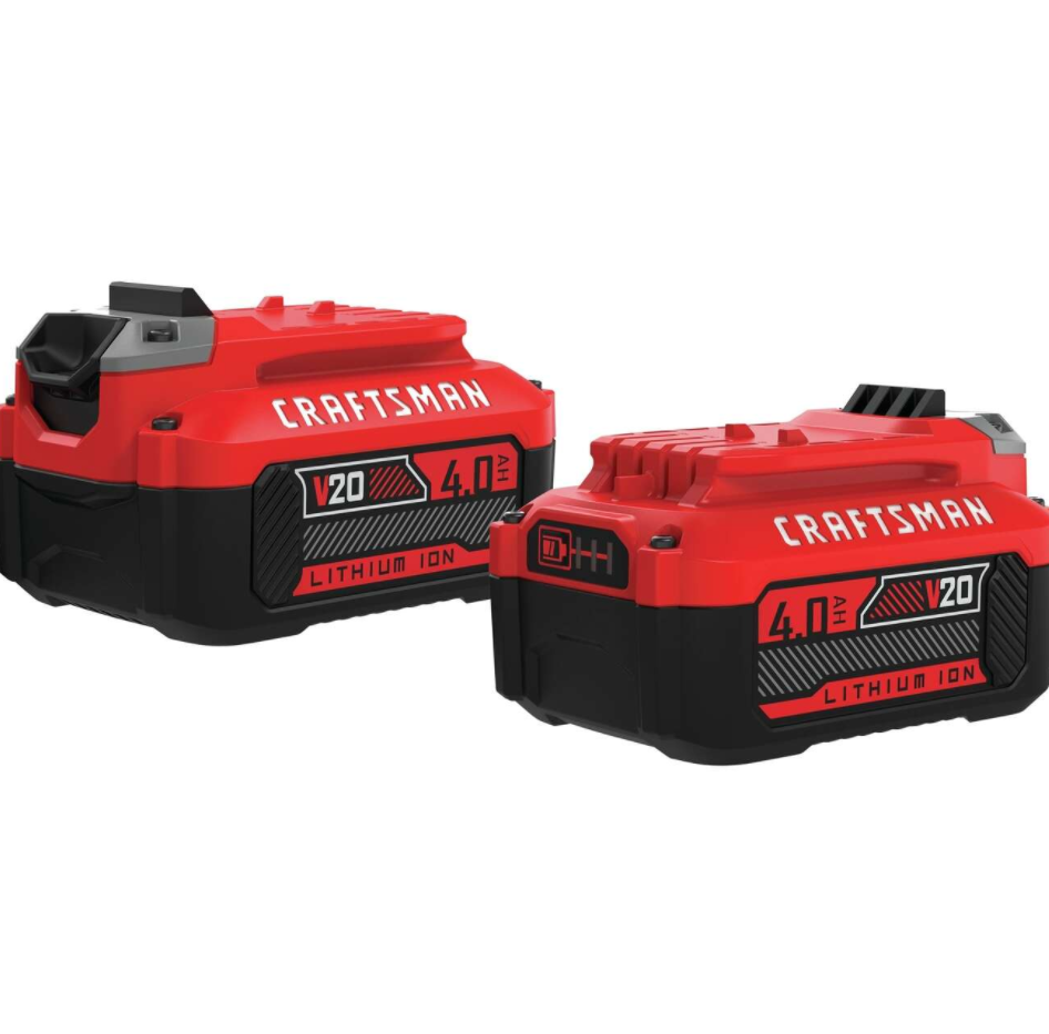 Craftsman V20 20 V 4 Ah Lithium-Ion High Capacity Battery 2 pc - Ace Hardware $79