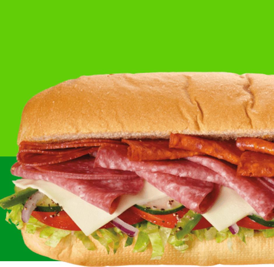Subway: Buy One Footlong Sub, Get One Footlong Sub