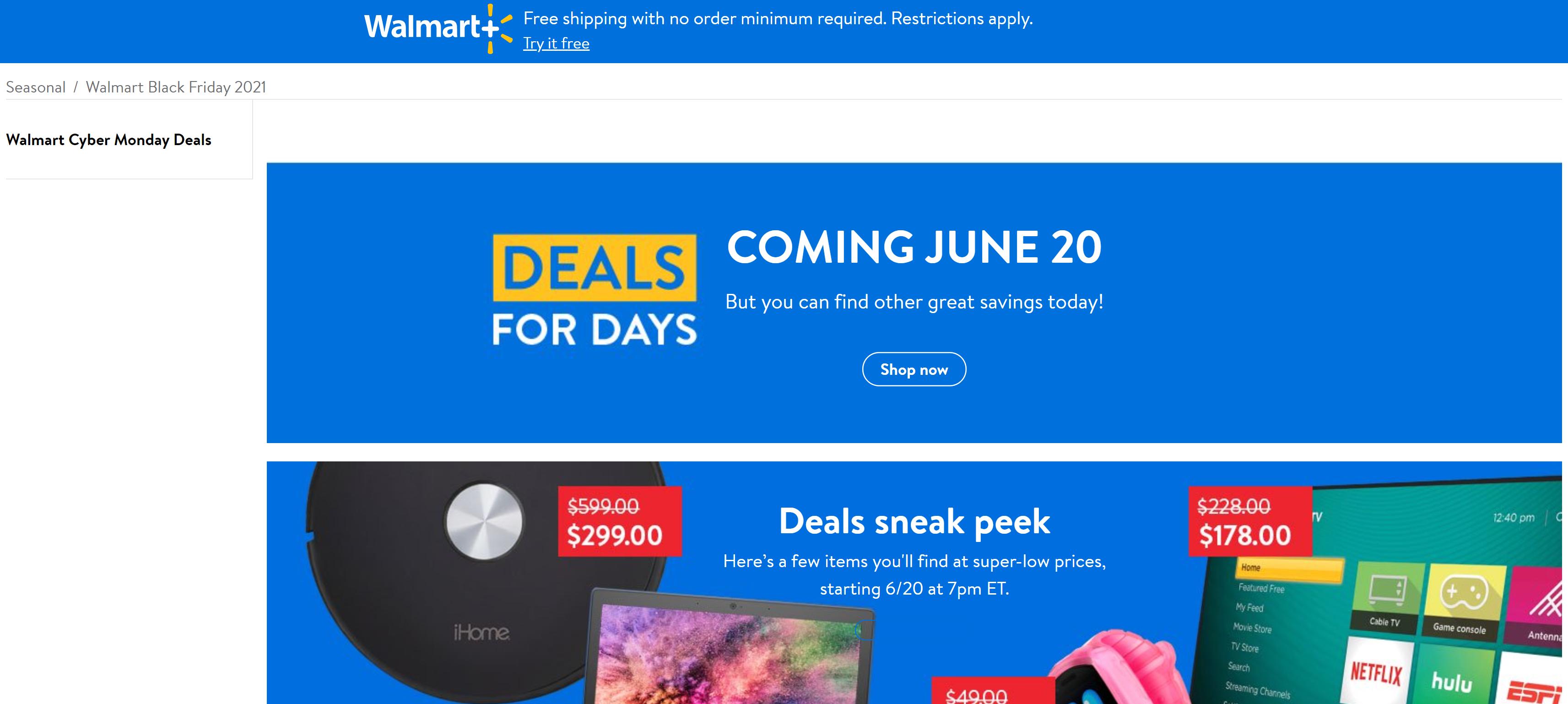 Walmart Deals for Days