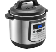 Insignia™ - 8qt Digital Multi Cooker - Stainless Steel $37.99