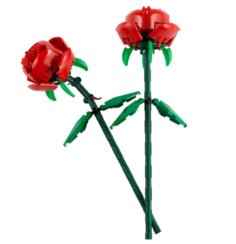 Roses (40460) $12.99 & Tulips (40461) $9.99 - Available now at Lego.com
