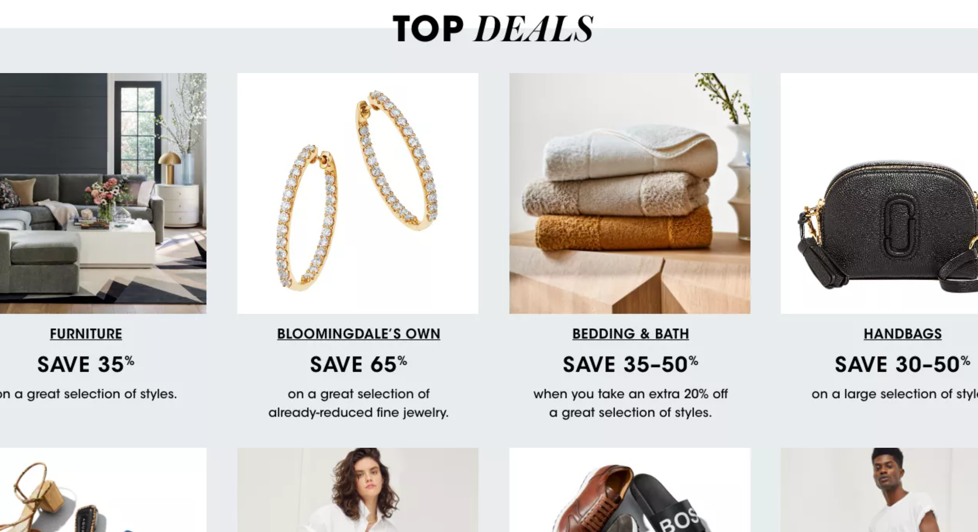Bloomingdales Memorial Day Sale--Save Up to 70% off
