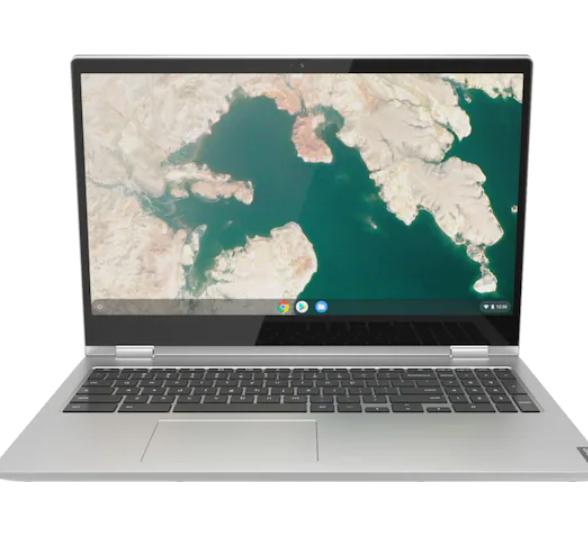 "Bestbuy - Lenovo - C340-15 2-in-1 15.6"" Touch-Screen Chromebook - Intel Core i3 - 4GB  64GB eMMC"