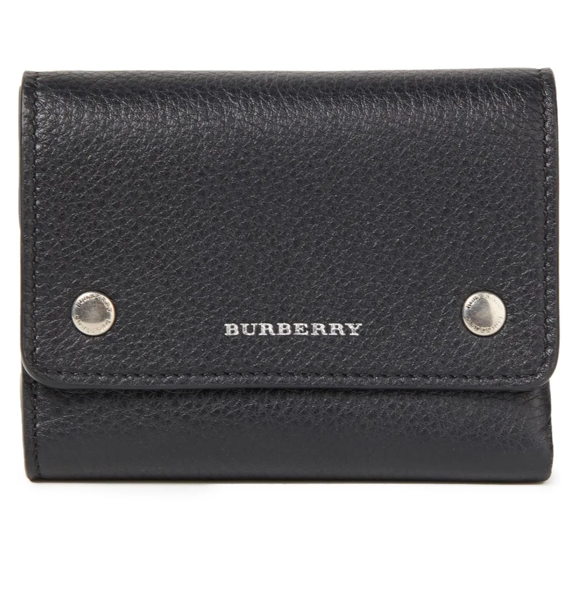 Burbbery Pebbled-leather Wallet @The OUTNET is only $248.20