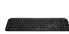 Logitech MX Keys Advanced Illuminated Wireless Keyboard $80