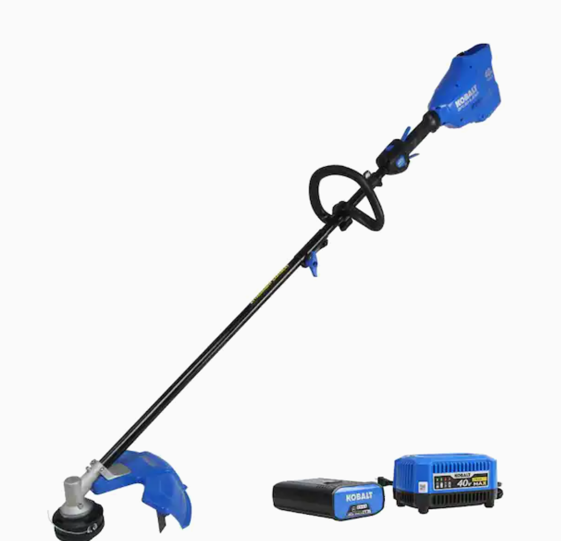 40-Volt Max 16-in Straight Cordless String Trimmer with Attachment Capable and (Battery Included)