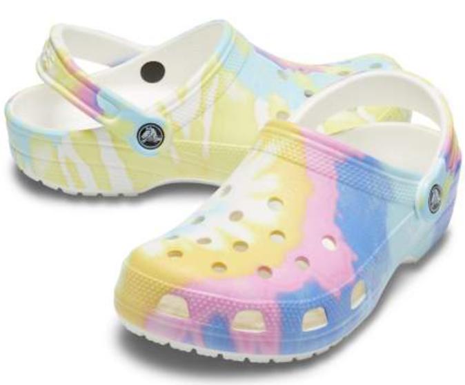 Crocs Classic Tie-dye Graphic Clog $41.24