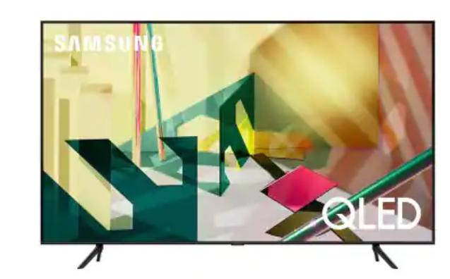 "SAMSUNG 82"" Class Q7-Series (2020) 4K Ultra HD QLED Smart TV -Sam's Club $2197.99 + $600 Gift Card"