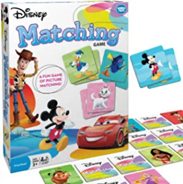 Wonder Forge Disney Classic Characters Matching Game for Boys & Girls Age 3 to 5 - A Fun & Fast Disney Memory Game | Amazon