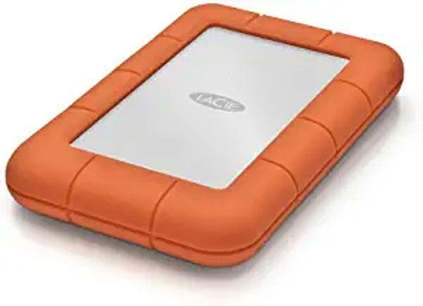 LaCie LAC9000298 Rugged Mini 2TB External Hard Drive Portable HDD - USB 3.0 USB 2.0 Compatible, Drop Shock Dust Rain Resistant Shuttle Drive, For Mac And PC Computer Desktop Workstation PC Laptop | Amazon