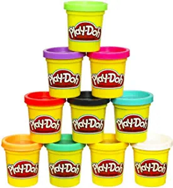 Play-Doh Modeling Compound 10-Pack Case of Colors, Non-Toxic, Assorted, 2 oz. Cans, Ages 2 and up, Multicolor | Amazon