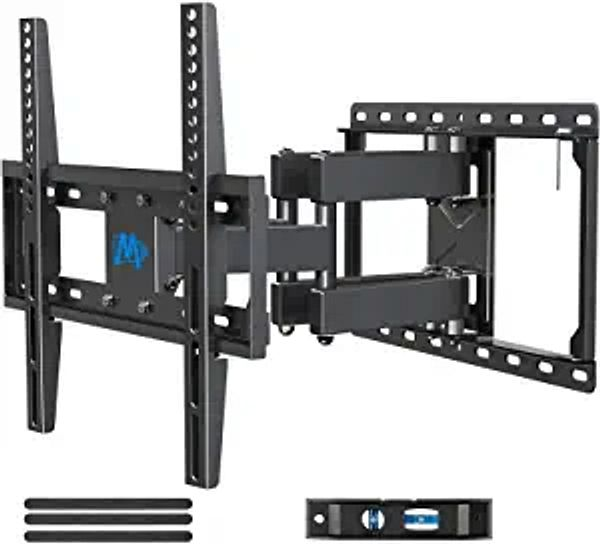 Mounting Dream UL Listed TV Mount TV Wall Mount with Swivel and Tilt for Most 32-55 Inch TV, Full Motion TV Mount with Articulating Dual Arms, Max VESA 400x400mm, 99 lbs. Loading, 16 inch Studs MD2380 | Amazon