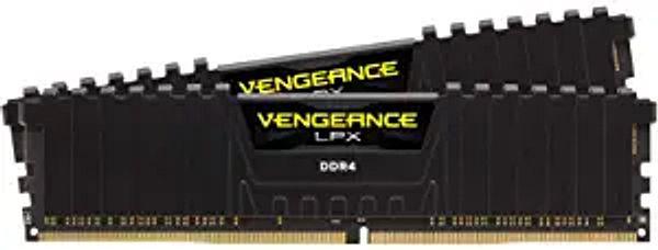 Corsair Vengeance LPX 16GB (2x8GB) DDR4 DRAM 3200MHz C16 Desktop Memory Kit - Black (CMK16GX4M2B3200C16) | Amazon