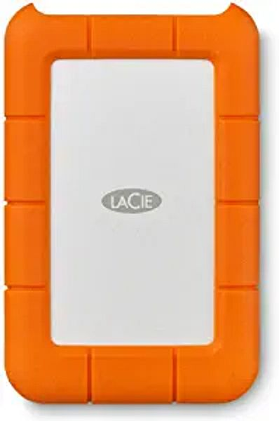 LaCie (LAC9000633) Rugged Mini 4TB External Hard Drive Portable HDD – USB 3.0 USB 2.0 Compatible, Drop Shock Dust Rain Resistant Shuttle Drive, For Mac And PC Computer Desktop and Laptop | Amazon