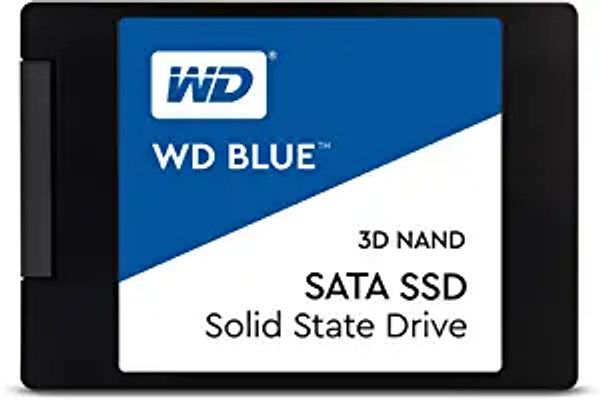"Western Digital 1TB WD Blue 3D NAND Internal PC SSD - SATA III 6 Gb/s, 2.5""/7mm, Up to 560 MB/s - WDS100T2B0A | Amazon"