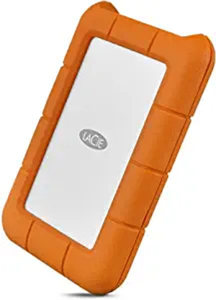LaCie Rugged USB-C 5TB External Hard Drive Portable HDD – USB 3.0, Drop Shock Dust Rain Resistant Shuttle Drive, for Mac and PC Computer Desktop Workstation Laptop, 1 Month Adobe CC (STFR5000800) | Amazon