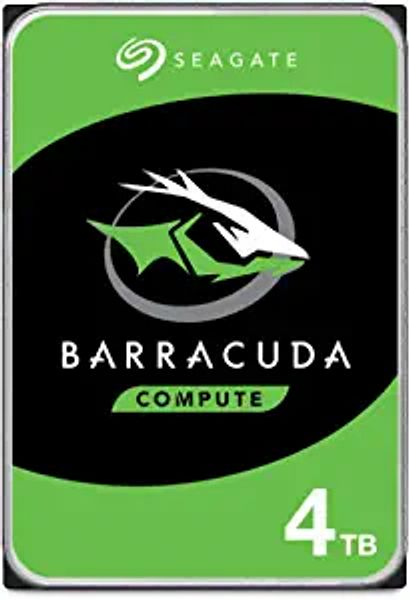 Seagate BarraCuda 4TB Internal Hard Drive HDD – 3.5 Inch Sata 6 Gb/s 5400 RPM 256MB Cache For Computer Desktop PC – Frustration Free Packaging ST4000DMZ04/DM004 | Amazon