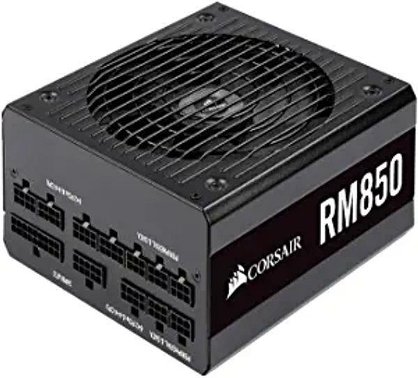 Corsair RM Series, RM850, 850 Watt, 80+ Gold Certified, Fully Modular Power Supply, Microsoft Modern Standby (CP-9020196-NA)