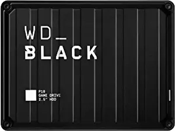 WD_Black 5TB P10-Game Drive, Portable External Hard Drive Compatible with -Playstation, Xbox, PC, & Mac - WDBA3A0050BBK-WESN | Amazon