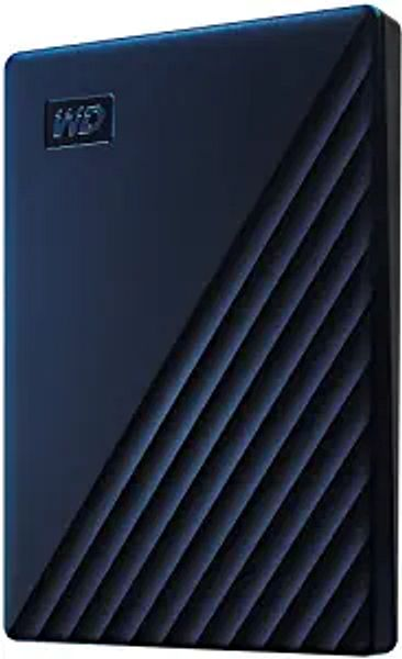 WD 2TB My Passport for Mac Portable External Hard Drive HDD, USB-C and USB-A Compatible, Blue - WDBA2D0020BBL-WESN | Amazon