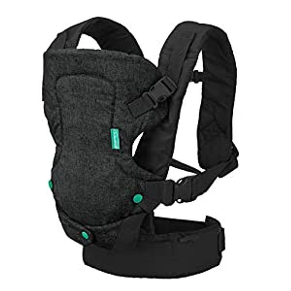 Infantino Flip 4-in-1 Carrier - Ergonomic, Convertible, face-in and face-Out, Front and Back Carry for Newborns and Older Babies 8-32 lbs   Amazon