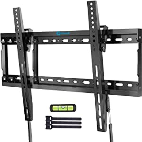 Tilt TV Wall Mount Bracket Low Profile for Most 37-70 Inch LED LCD OLED Plasma Flat Curved Screen TVs, Large Tilting Mount Fits 16-24 Inch Wood Studs Max VESA 600x400mm Holds up to 132lbs by Pipishell | Amazon