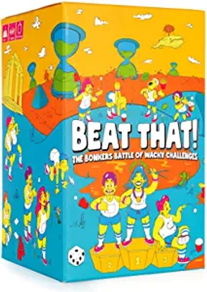 Beat That! - The Bonkers Battle of Wacky Challenges [Family Party Game for Kids & Adults] | Amazon