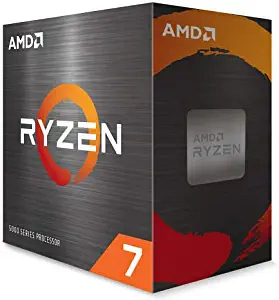 AMD Ryzen 7 5800X 8-core, 16-Thread Unlocked Desktop Processor Without Cooler Black, XX-Large | Amazon
