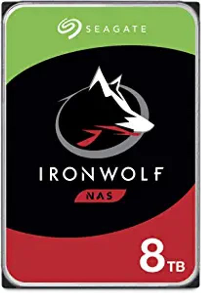 Seagate IronWolf 8TB NAS Internal Hard Drive HDD – 3.5 Inch SATA 6Gb/s 7200 RPM 256MB Cache for RAID Network Attached Storage – Frustration Free Packaging (ST8000VNZ04/N004) | Amazon