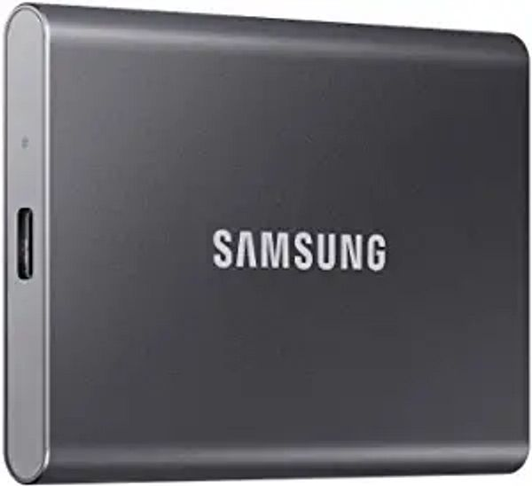 SAMSUNG T7 Portable SSD 1TB - Up to 1050MB/s - USB 3.2 External Solid State Drive, Gray (MU-PC1T0T/AM) | Amazon