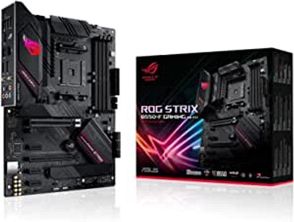 ASUS ROG Strix B550-F Gaming (WiFi 6) AMD AM4 Zen 3 Ryzen 5000 & 3rd Gen Ryzen ATX Gaming Motherboard (PCIe 4.0, 2.5Gb LAN, BIOS Flashback, HDMI 2.1, Addressable Gen 2 RGB Header and Aura Sync)