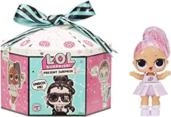 LOL Surprise Present Surprise Series 2 Glitter Shimmer Star Sign Themed Doll with 8 Surprises, Accessories, Dolls | Amazon