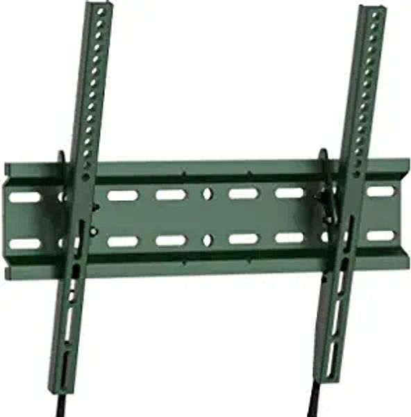 Tilting TV Wall Mount Bracket Low Profile for Most 23-55 Inch LED, LCD, OLED, Plasma Flat Screen TVs with VESA 400x400mm Weight up to 115lbs by PERLESMITH, Green PSMTK1D