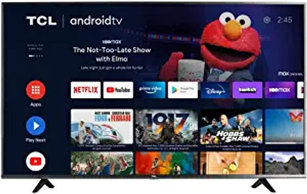 TCL 50-inch Class 4-Series 4K UHD HDR Smart Android TV - 50S434, 2021 Model | Amazon
