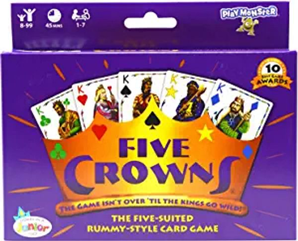 Five Crowns Card Game, Purple