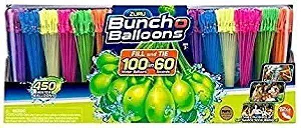 Rapid-Filling Self-Sealing Bunch of Water-Balloons