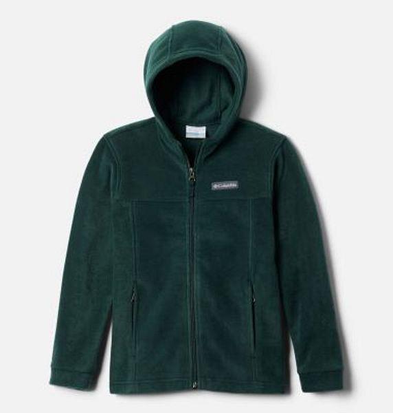 Boys' Steens™ Mountain II Fleece Hooded Jacket   Columbia Sportswear