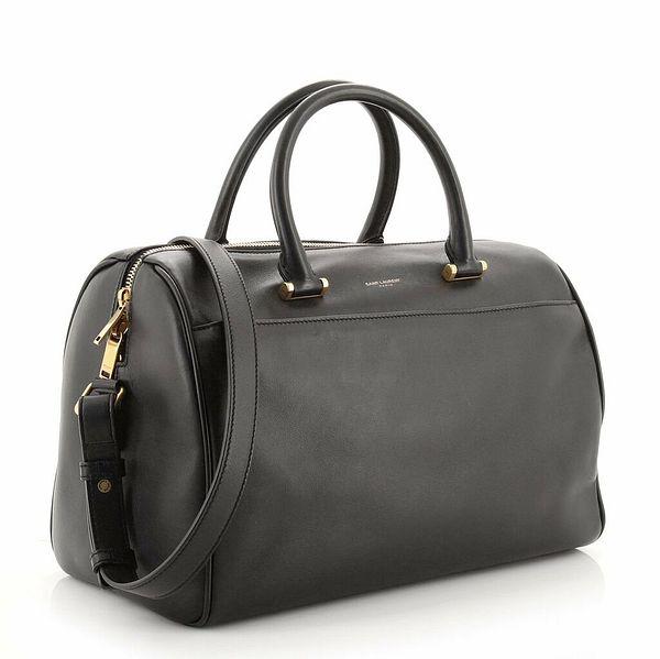 Saint Laurent Classic Duffle Bag Leather 6  | eBay