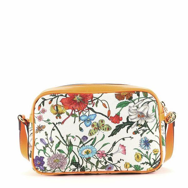 Gucci Shoulder Bag Flora Canvas Small  | eBay