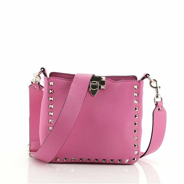 Valentino Rockstud Flip Lock Messenger Bag Leather Mini  | eBay