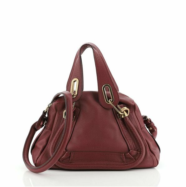 Chloe Paraty Top Handle Bag Leather Small    eBay
