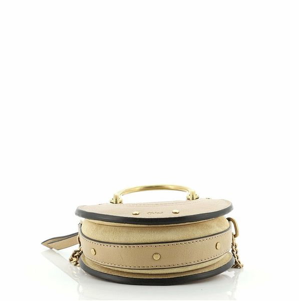 Chloe Pixie Crossbody Bag Leather with Suede Mini    eBay