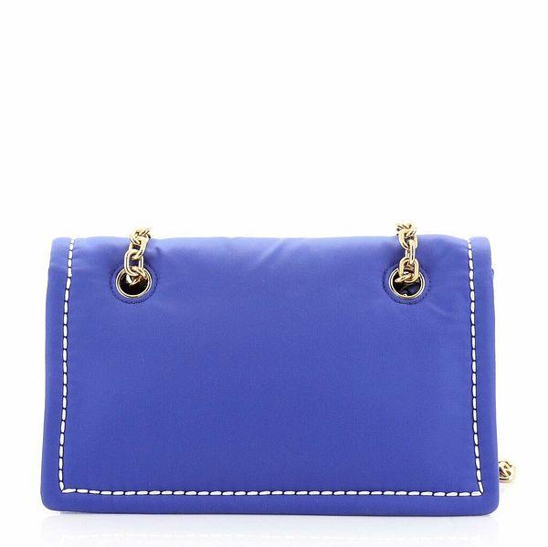 Prada Padded Chain Flap Bag Tessuto Medium  | eBay